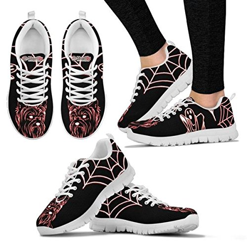 Choose Your Pet Dog Shoetup Running Shoes Terrier Yorkshire Casual Women Women's Sneakers for Halloween Breed qHRWRwaz