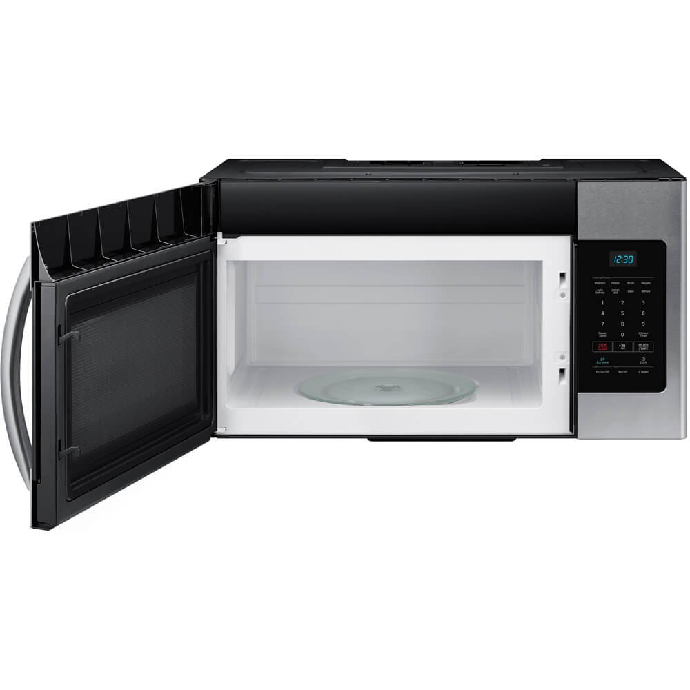 Lowes microwaves over the range with vent - Amazon Com Samsung Me16h702ses 1 6 Cu Ft Over The Range Microwave Oven Appliances
