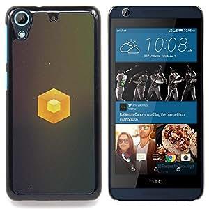 TikTakTok Funda Carcasa protectora para HTC Desire 626 - Cubo simple