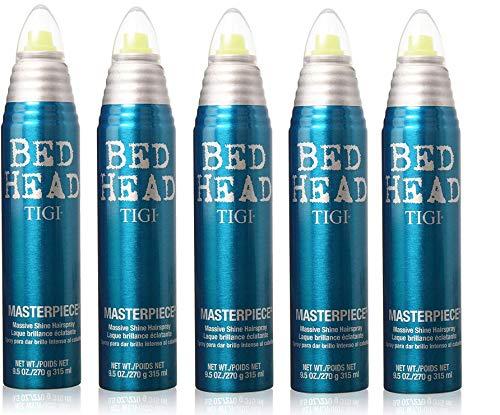 Tigi Bed Head Masterpiece Massive Shine Hairspray (5 Pack), 50 Oz (Tigi Hard Head)