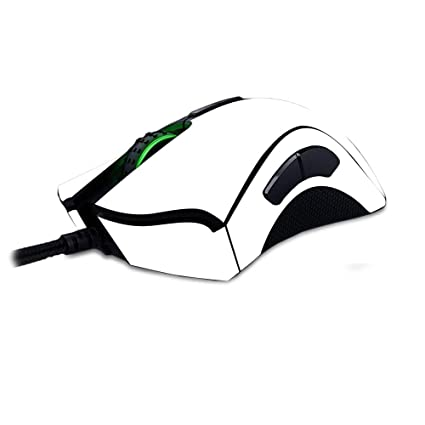 fab8904ce7f MightySkins Skin for Razer Deathadder Elite - Solid White | Protective,  Durable, and Unique