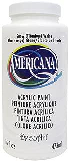 product image for DecoArt DEC65.01 Americana Acrylics 16oz Snow White