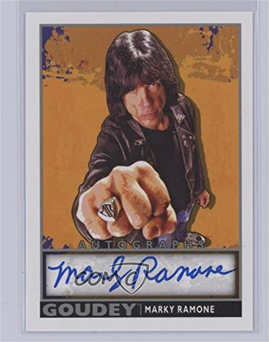 (Marky Ramone Ungraded COMC Mint (Trading Card) 2017 Upper Deck Goodwin Champions - Goudey - Autographs [Autographed])