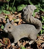 Hi-Line Gift 87742-C Squirrel Hopping Statue44; Grey For Sale