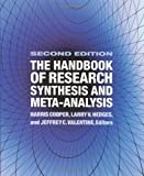 img - for The Handbook of Research Synthesis and Meta-Analysis (2009-02-05) book / textbook / text book