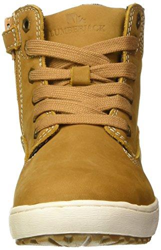 New Giallo Try Collo dk Bambino m0001 Alto Scarpe Yellow Lumberjack Brown A 1wpHdqRpx