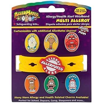 AllerMates Standard Multi Food Allergy Bracelet Kit for Children