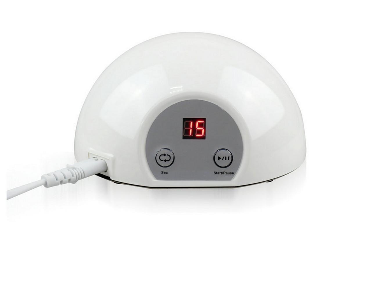 LUCKY-U Nagel Lampe 12W Smart UV LED Gel Polieren Trocknen Werkzeug ...