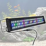 24'' 0.5W 78 LED Aquarium Light Multi-Color Full Spectrum Lamp 24''-30'' Fish Tank