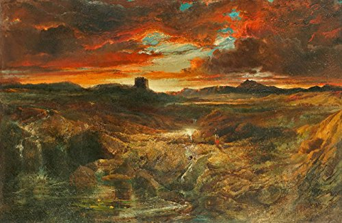- Odsan Gallery Childe Roland To The Dark Tower Came - By Thomas Moran - Canvas Prints 20