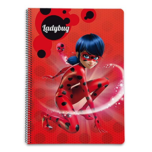 A4 /Notizbuch Hardcover Grupo Erik Editores Ladybug/