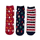 3 Pairs/1 Pair Christmas Women Cotton Socks ODGear Xmas Funny Casual Multicolor Printed Winter Gift Cute Socks Clearance