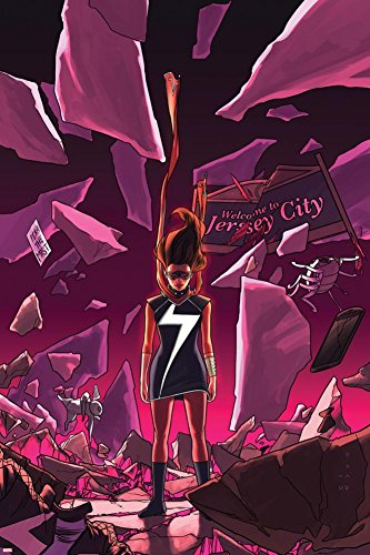 Ms. Marvel #16 Cover Featuring Ms. Marvel Kamala Khan Poster by Kris Anka