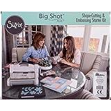 Sizzix Big Shot Plus Starter Kit (White & Gray) by Ellison