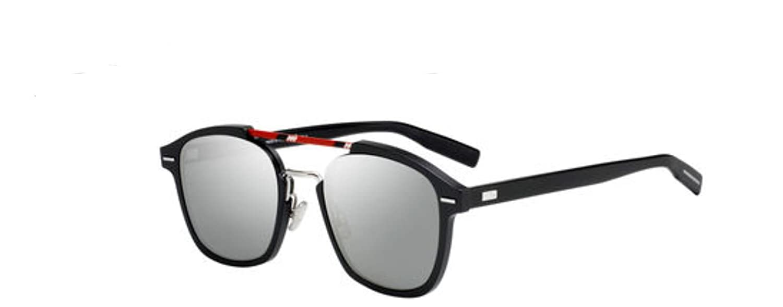 e8f9cc596b Amazon.com  New Christian Dior Homme Al 13 13 0807 OT Black Sunglasses   Clothing