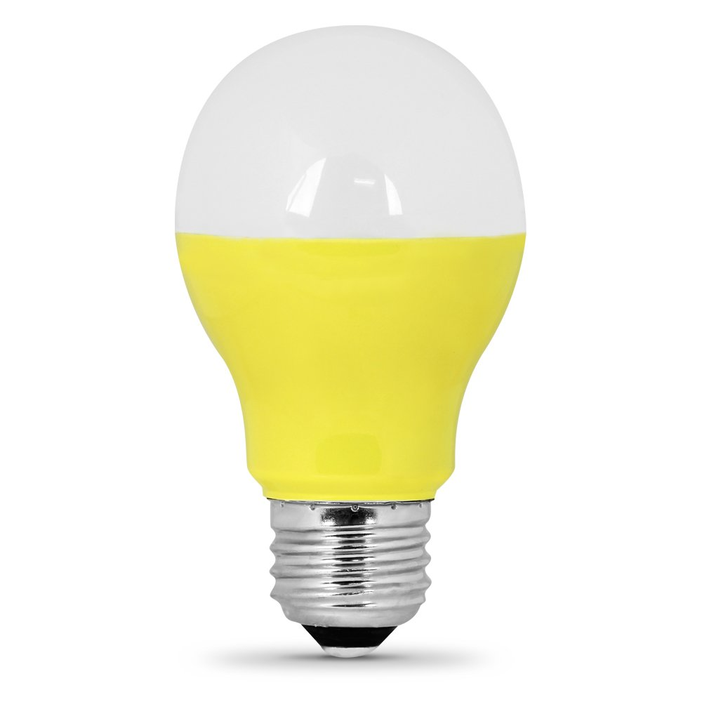 Feit Electric A19/Y/LED A19 Yellow LED - - Amazon.com