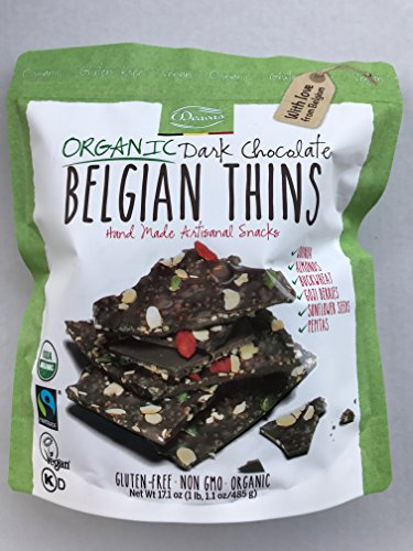 Belgian Thins Organic Dark Chocolate