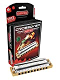 Hohner Inc. M2009BX-D Marine Band Crossover Harmonica, D
