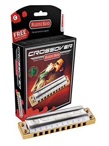 Hohner M2009BX-D Marine Band Crossover Boxed Key Of D