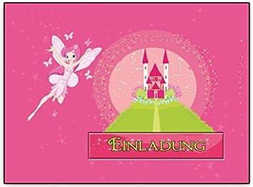 Einladungskarten Feen Fee Elfen Kindergeburtstag Mädchen Mädels Einladung    8 Stück