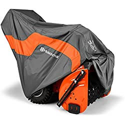 Husqvarna Snow Thrower Blower Protective Heavy Duty Tarp Cover, Gray | 582846301