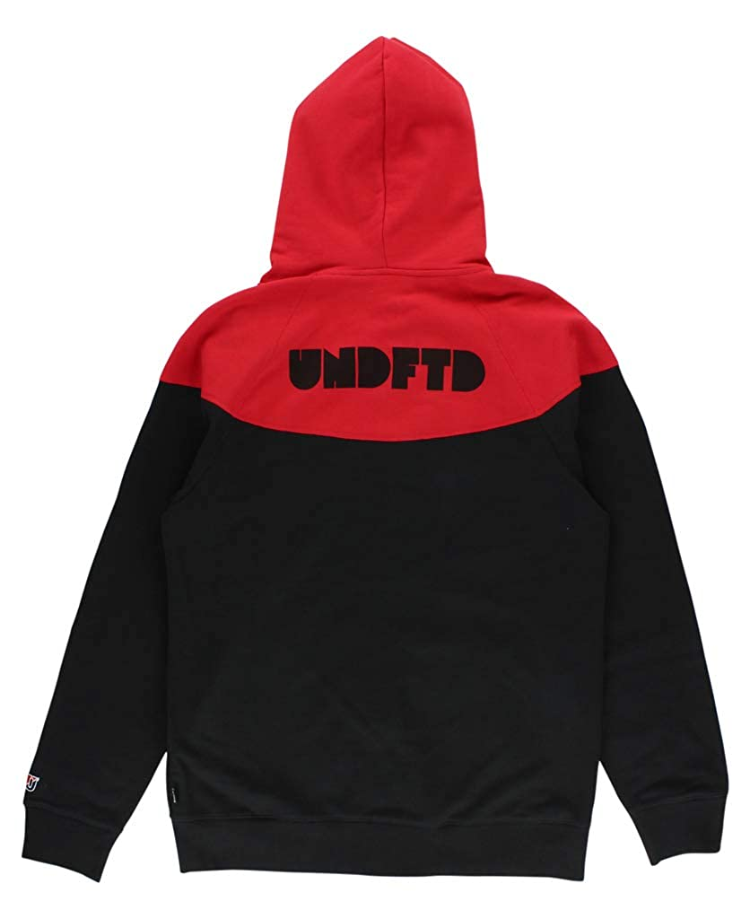 Large Undefeated Capitol Zip Hoodie Mens Black
