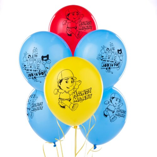 Party Destination Disney Handy Manny Latex Balloons -
