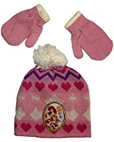 Disney Little Girls' Princess Cold Weather Set - One Size Fits Most