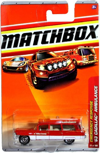 (Mattel Year 2009 Matchbox MBX Emergency Response Series 1:64 Scale Die Cast Car #55 -