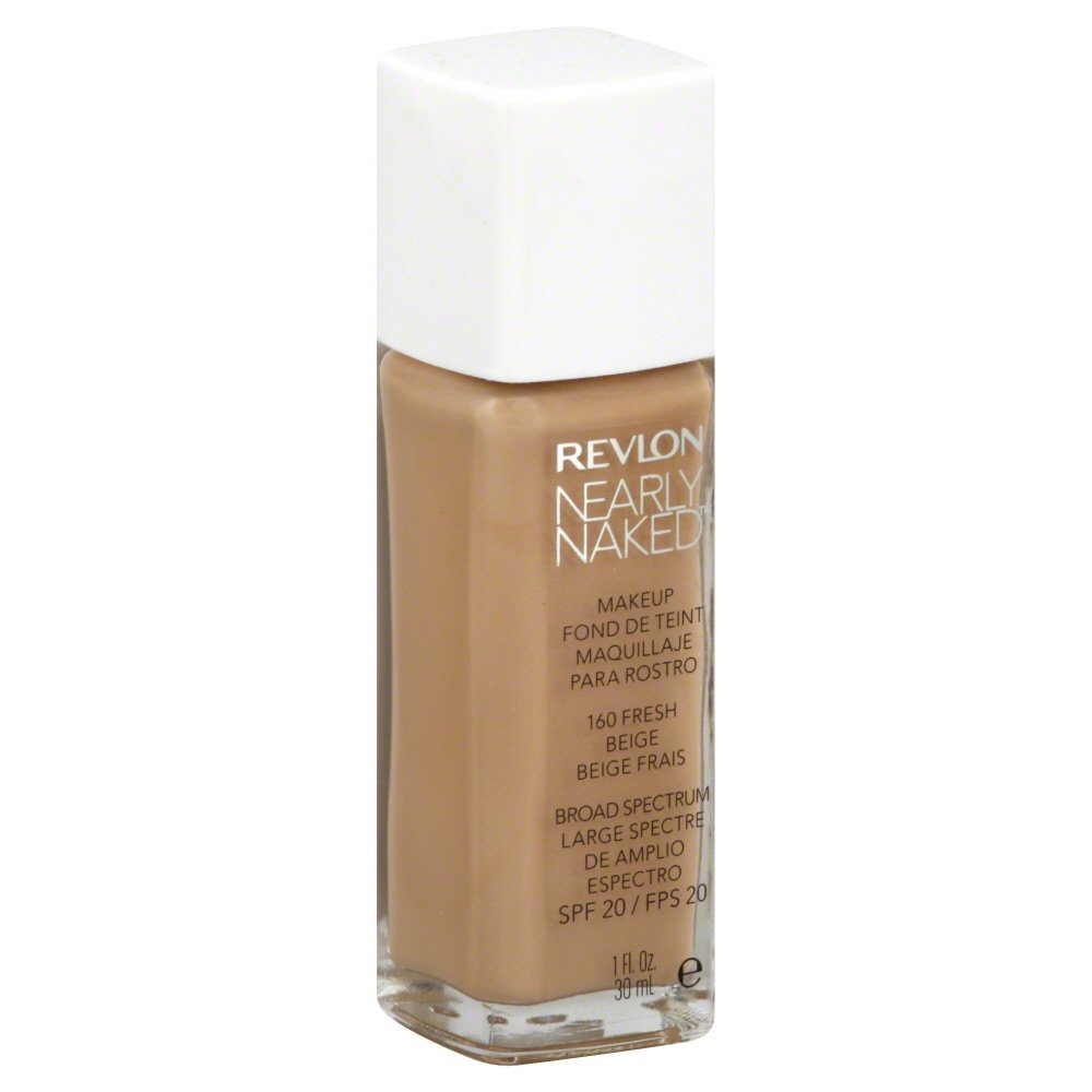 Revlon Nearly Naked Makeup - Fresh Beige - 1 oz