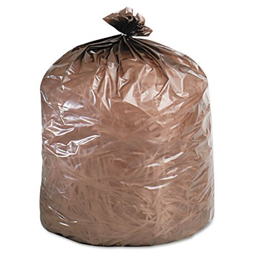 Wholesale CASE of 10 - Stout Totally Biodegradable Trash Bags-Biodegradable Trash Bags,39 Gal,1.10 ml,33''x44'',40/BX,Brown by STO
