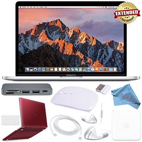 """Apple 128GB SSD 13.3"""" MacBook Pro  MPXR2LL/A + Red Macbook P"""