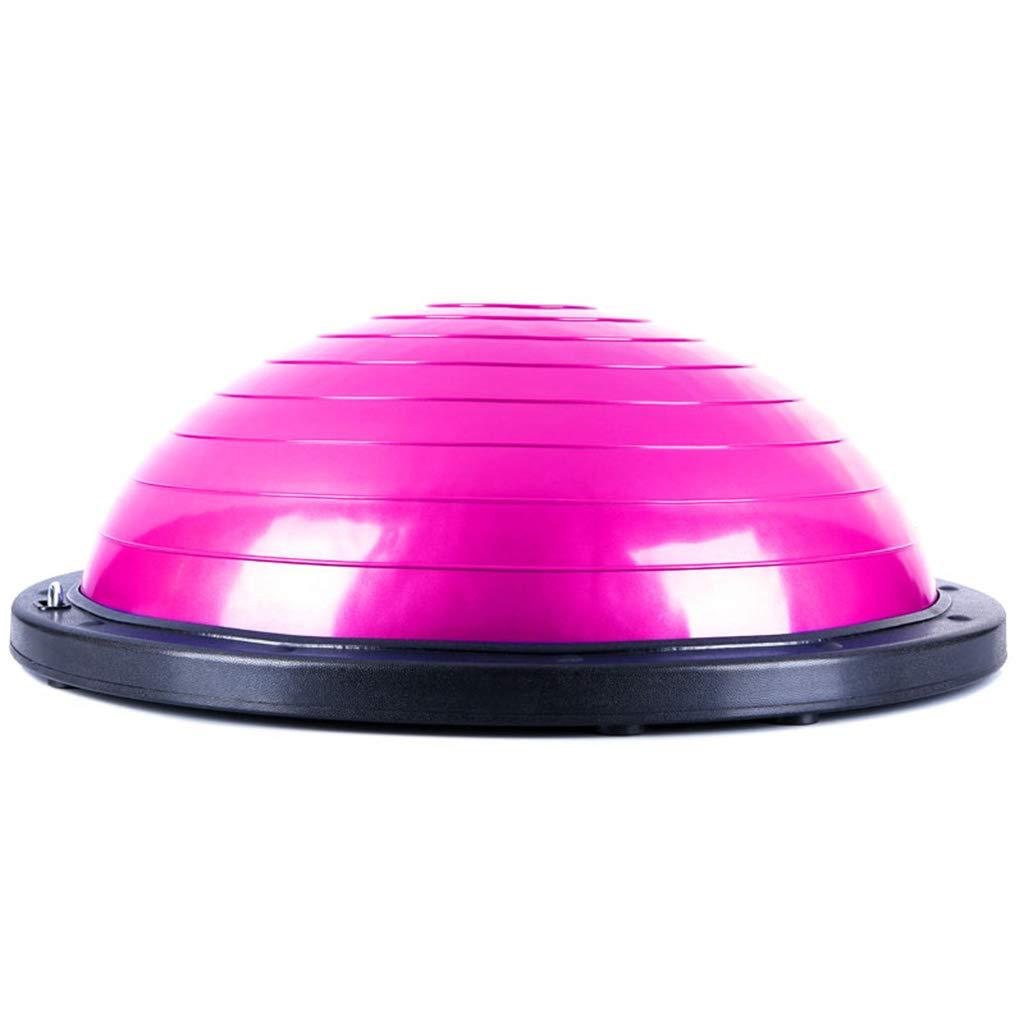 ヨガの波のスピードボール、厚い爆発の証明半円のバランスのボールフィットネスリハビリトレーニングヨガボール59.8 * 20.5CM  F f B07GS7TQ6J