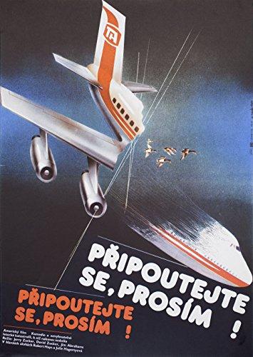 Airplane! 1983 Czech A3 Poster