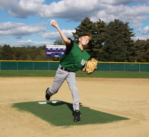 ProMounds ''Major League Style'' Pitching Game Mound - Green Turf by ProMounds
