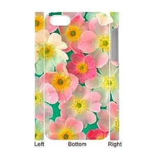 Petals Custom 3D For Apple Iphone 5/5S Case Cover ,Design phone case ygtg516812