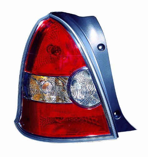 Depo 321-1946L-AS Hyundai Accent Driver Side Replacement Taillight Assembly