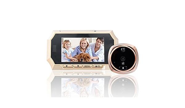 4.3 Digital Peephole Door Viewer Door Camera w// Snapshot /& 150/° Wide View Angle