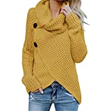 liu Women Solid Pullover Long Sleeve Blouse O-Neck Sweatshirt...