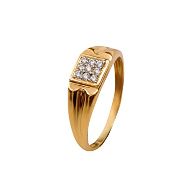 Buy Joyalukkas 18k Yellow Gold and Diamond Ring line at Low