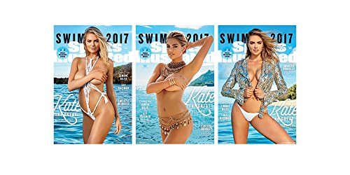 Trends International Wall Poster Sports Illustrated Kate Upton Collector's Bundle, 22.375