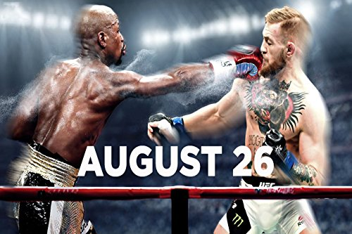 floyd mayweather conor mcgregor poster