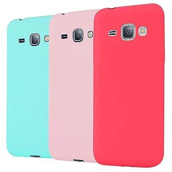 Leton 3X Funda Samsung Galaxy Grand Prime g530 Silicona ...