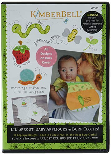 (Kimberbell Designs KD551 Lil' Sprout BabyAppliques Ptrn, None )