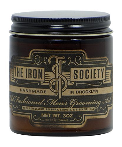 (The Iron Society Old Fashioned Men's Grooming Aid Hair Pomade)