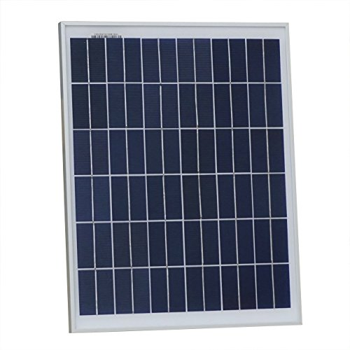 ECO-WORTHY 20 Watts 12 Volts Polycrystalline Solar Panel Module Battery Charging RV (Polycrystalline Solar Panel)