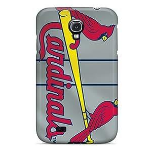 High Quality Cell-phone Hard Cover For Samsung Galaxy S4 (QJx4427HJEZ) Custom HD St. Louis Cardinals Skin WANGJING JINDA
