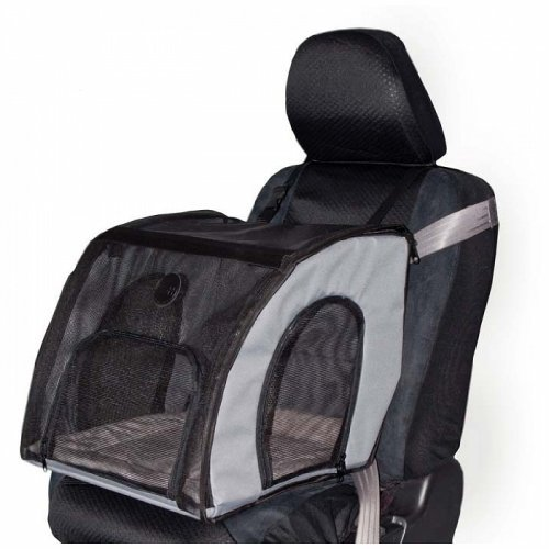 K&H Pet Products Travel Safety Carrier Small Gray 17'' x 16'' x 15'' - KH7660