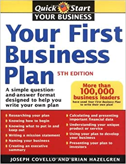 Getting help writing a business plan