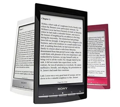 Sony E-Reader PRS-T1 - rojo + 2 AÑOS DE GARANTÍA: Amazon.es ...